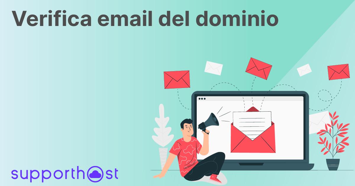 Verifica email del dominio