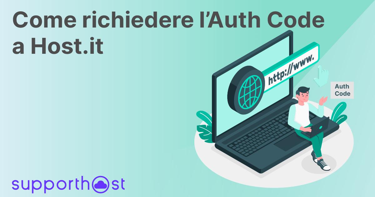 Richiedere EPP Code/Auth-Code a Host.it