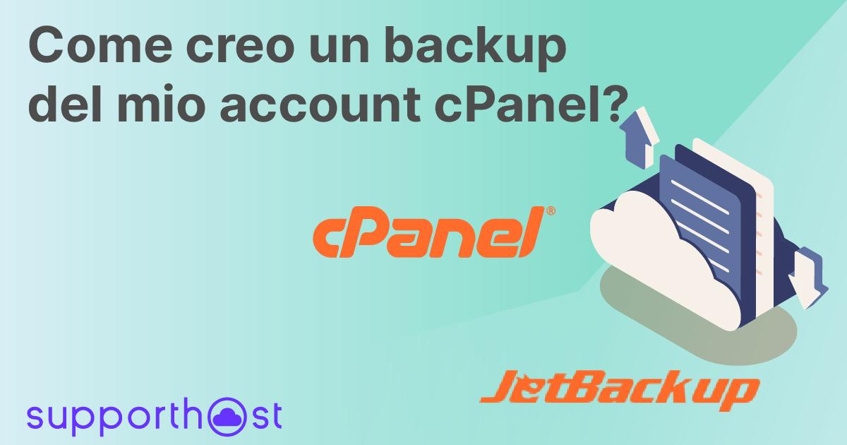 Backup Account Cpanel