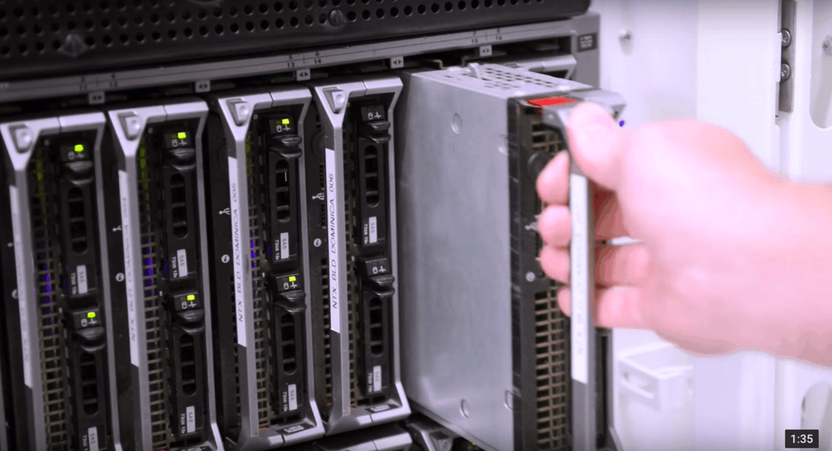 Datacenter Supporthost Rack