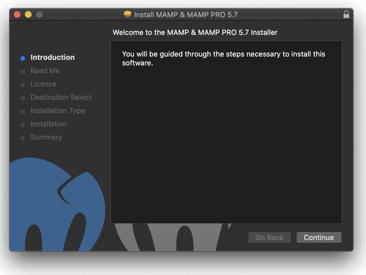 Installazione Mamp Mac