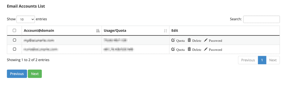 Mailsync Seleziona Email
