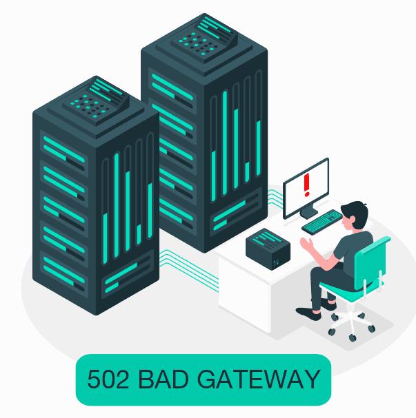 Errore 502 Bad Gateway