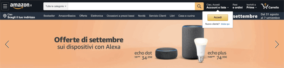Motori Di Ricerca Alternativi Amazon