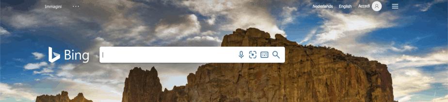 Motori Di Ricerca Alternativi Bing