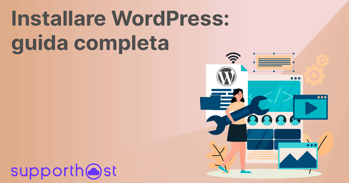 Installare Wordpress