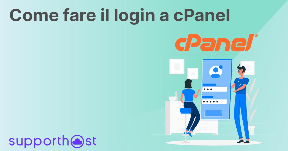 Come fare il login a cPanel