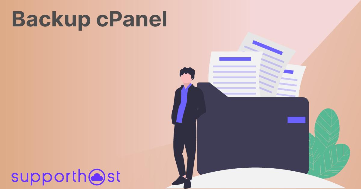Backup cPanel: creare e ripristinare i backup