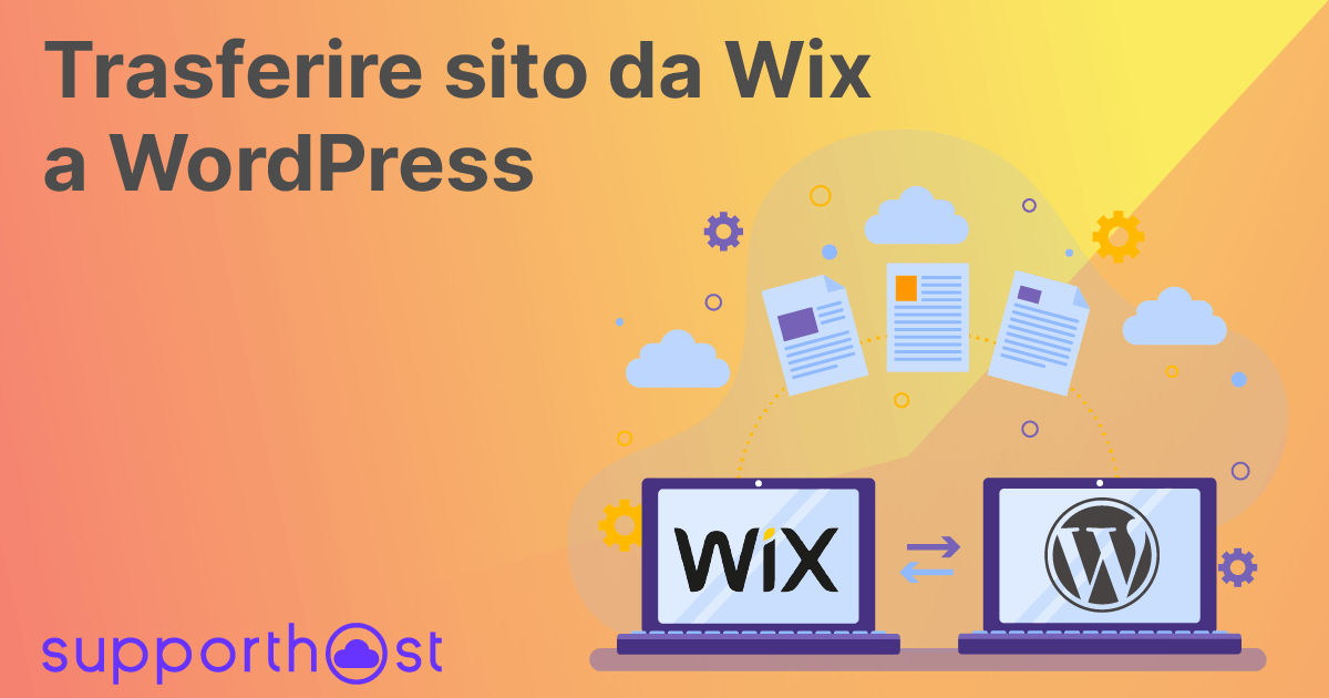 Trasferire sito da Wix a WordPress