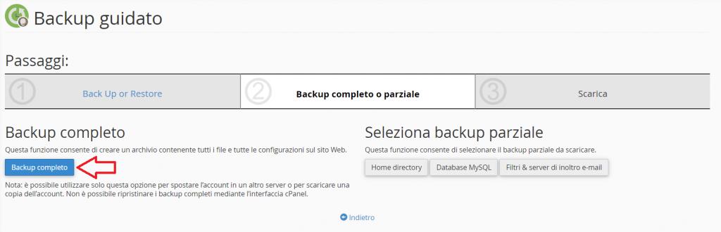 Backup Completo Cpanel