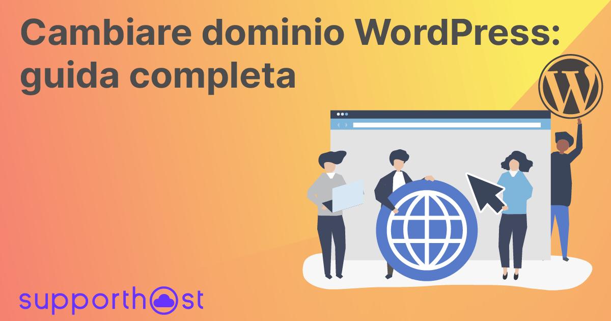 Cambiare Dominio Wordpress