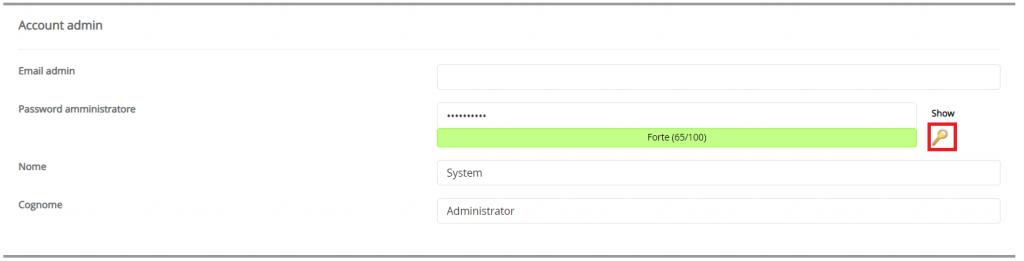 Installare Prestashop Account Admin