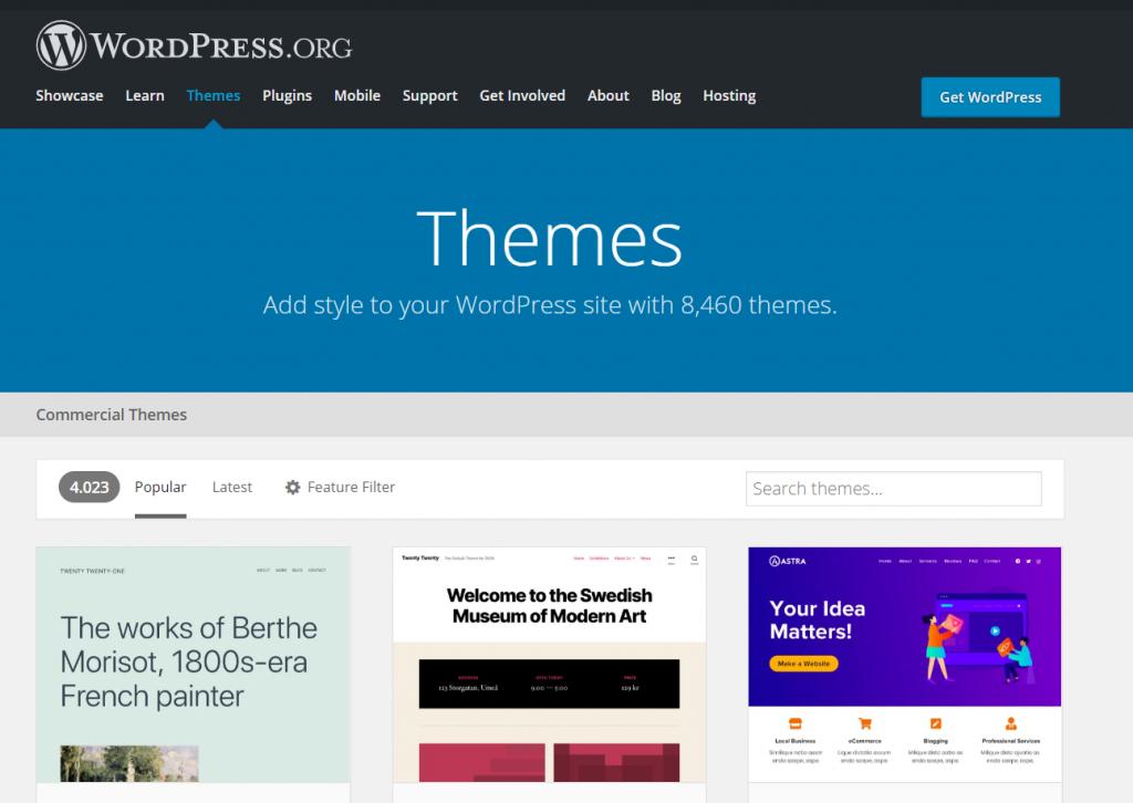 Temi WordPress Directory