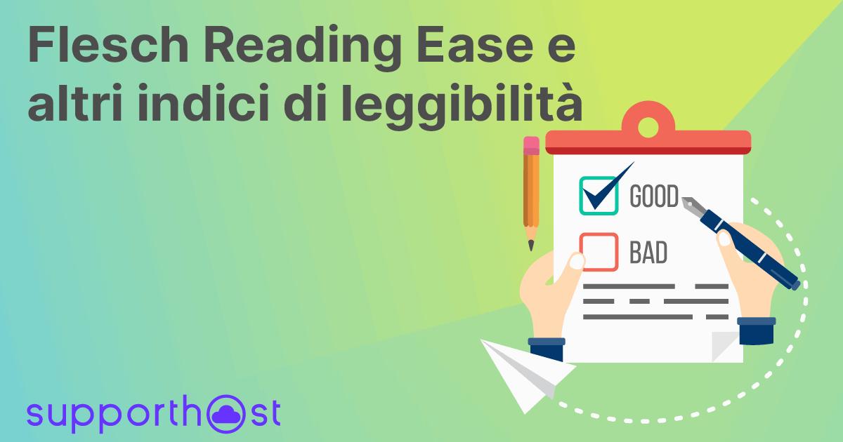Flesch Reading Ease e altri indici di leggibilità