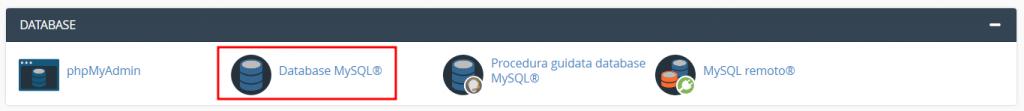 Database Mysql Cpanel
