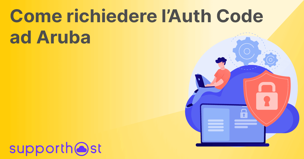 Richiedere EPP Code/Auth Code ad Aruba