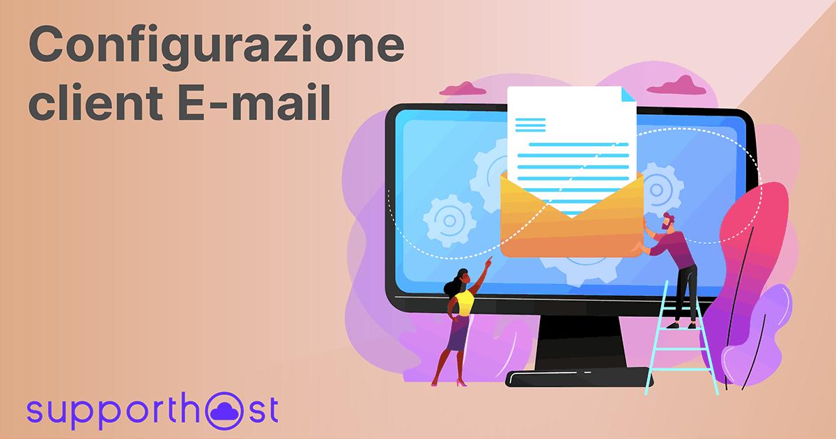 Configurazione client email