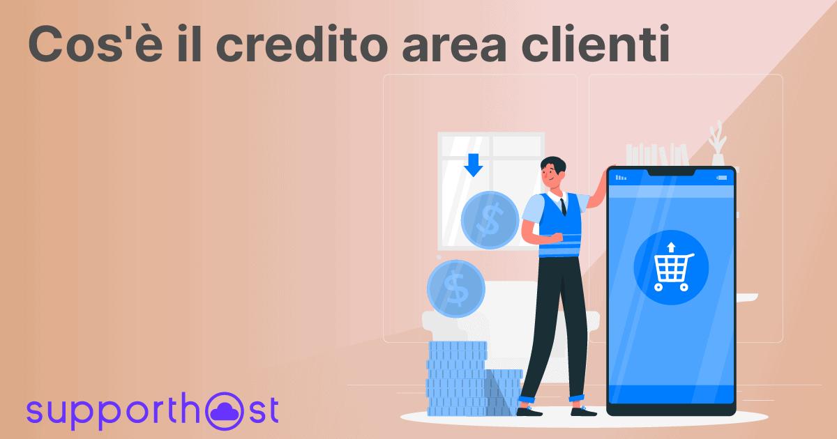 Cos'è il credito area clienti