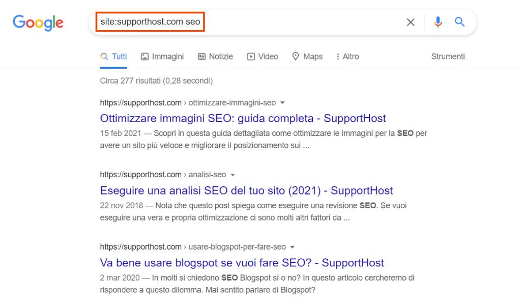 Ricerca Parola In Un Sito Con Google