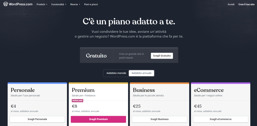Wordpress Com Piani