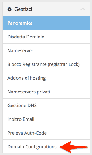 Enable and Disable WHOIS Protection for .it domains SupportHost
