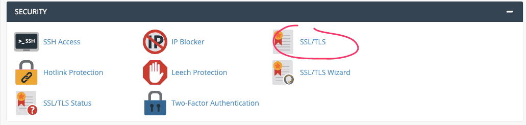generate certificate signing request CSR SupportHost
