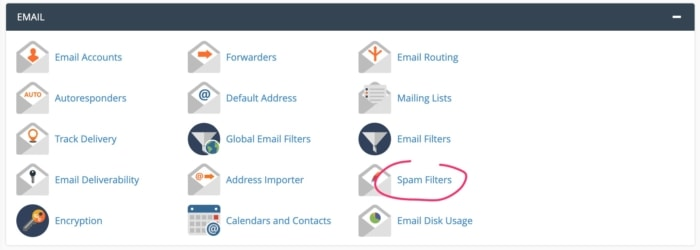 Supporthost Spam Filter