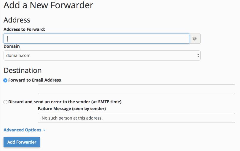 supporthost tutorial add forwarder