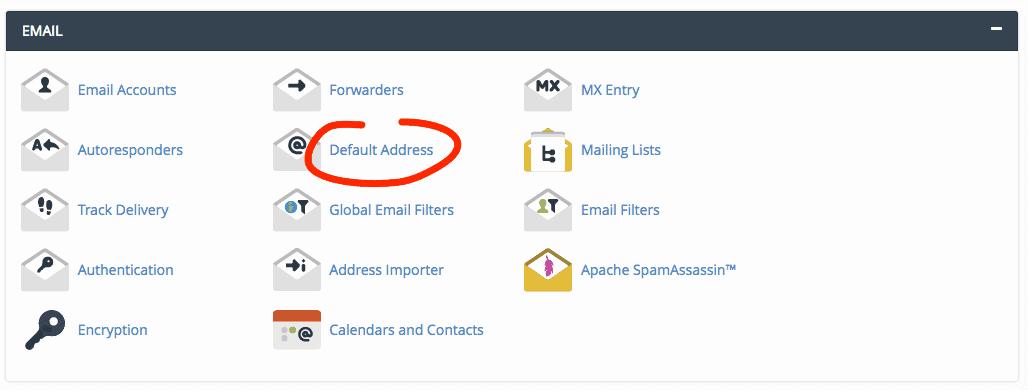 supporthost tutorial defaul address