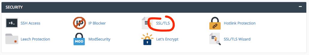 Eliminate a SSL certificate