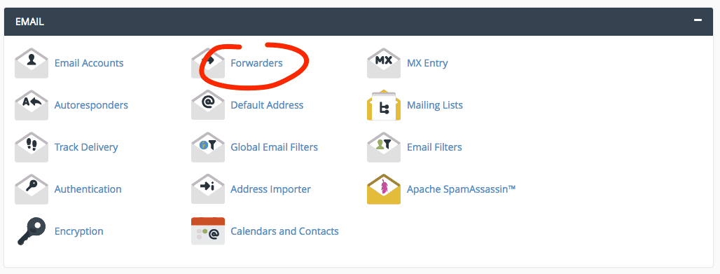 supporthost tutorial forwarders
