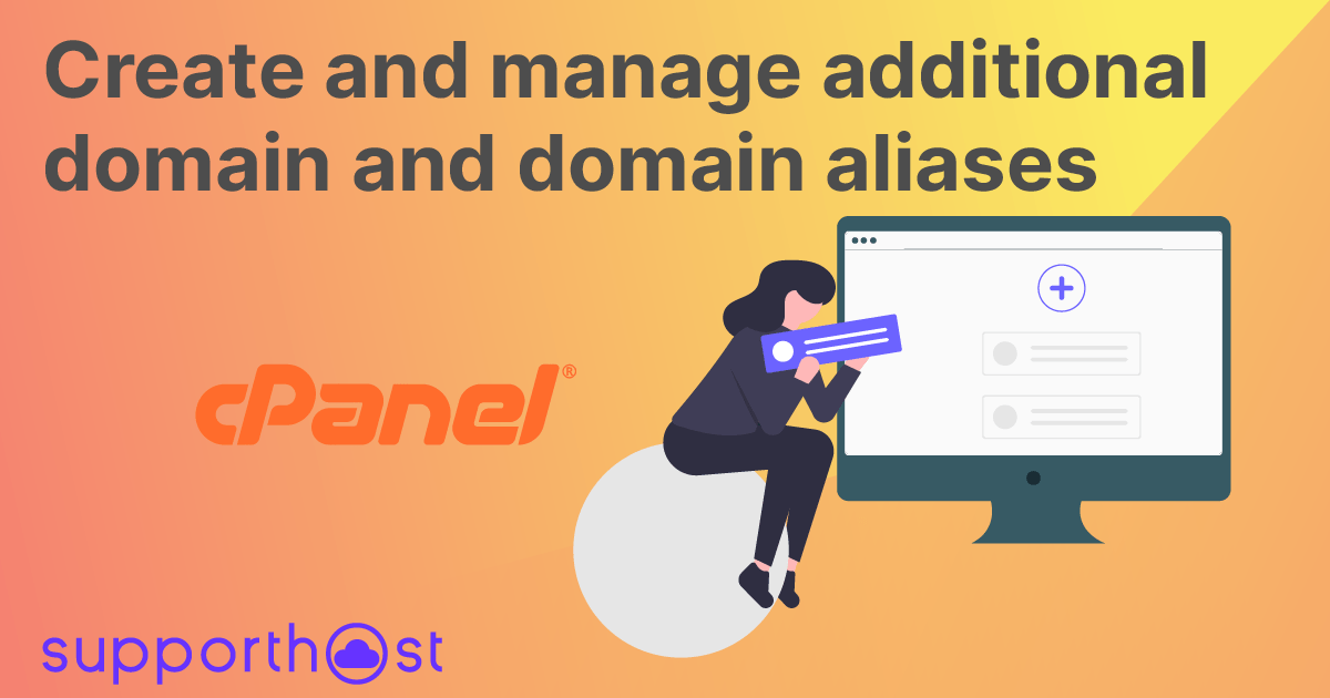 Create and manage addon domains and domain aliases