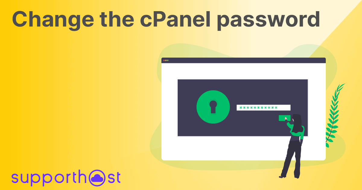 Change the cPanel password