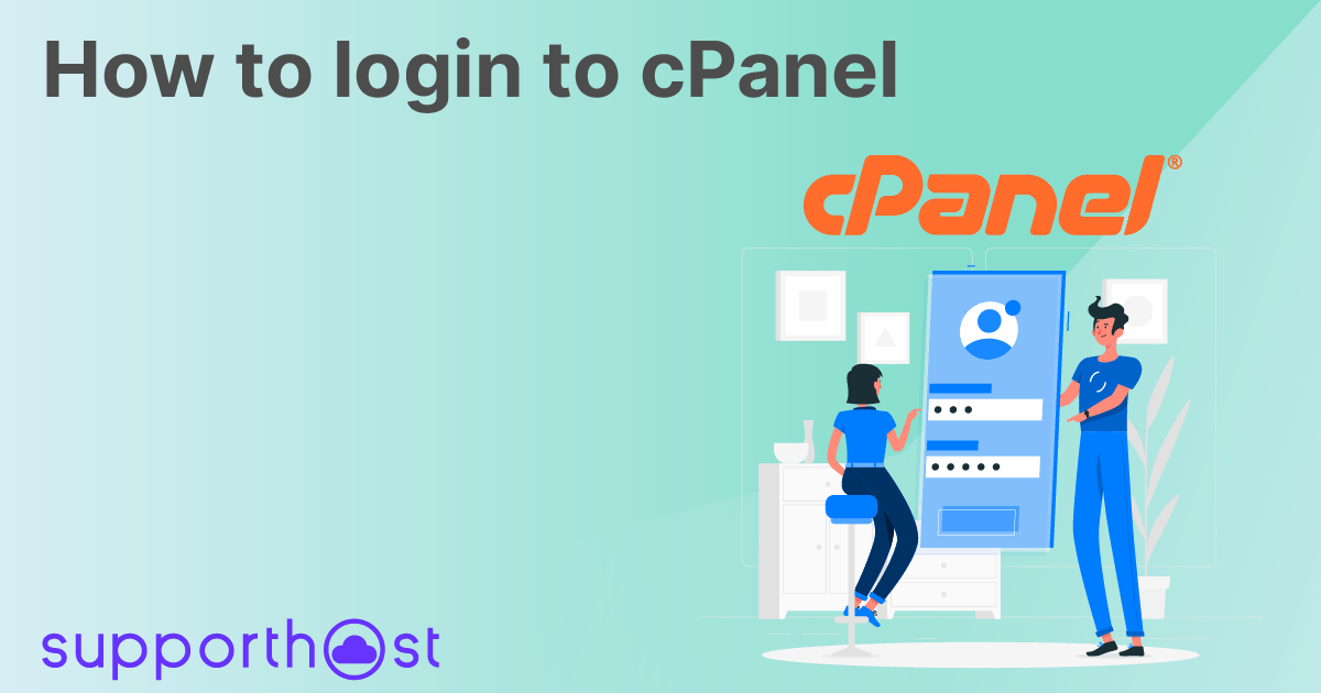 How to login to cPanel