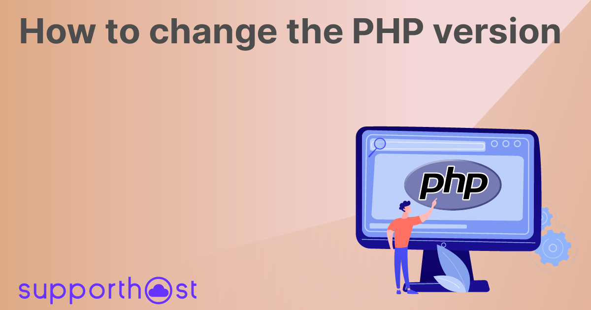 How to change the PHP version