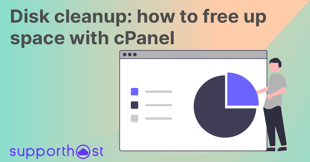 Disk cleanup: how to free up space with cPanel
