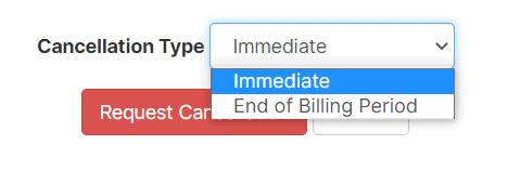 Cancellation Type