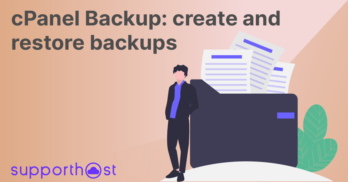 cPanel Backup: create and restore backups
