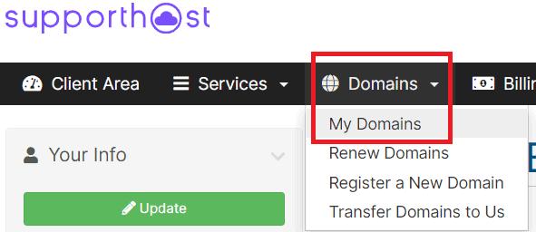 Domains My Domains