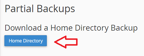 Download Partial Backup