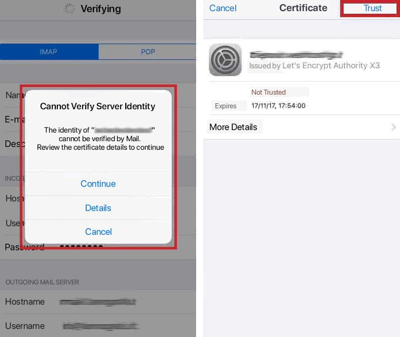 Email Certificate Iphone Ssl Certificate
