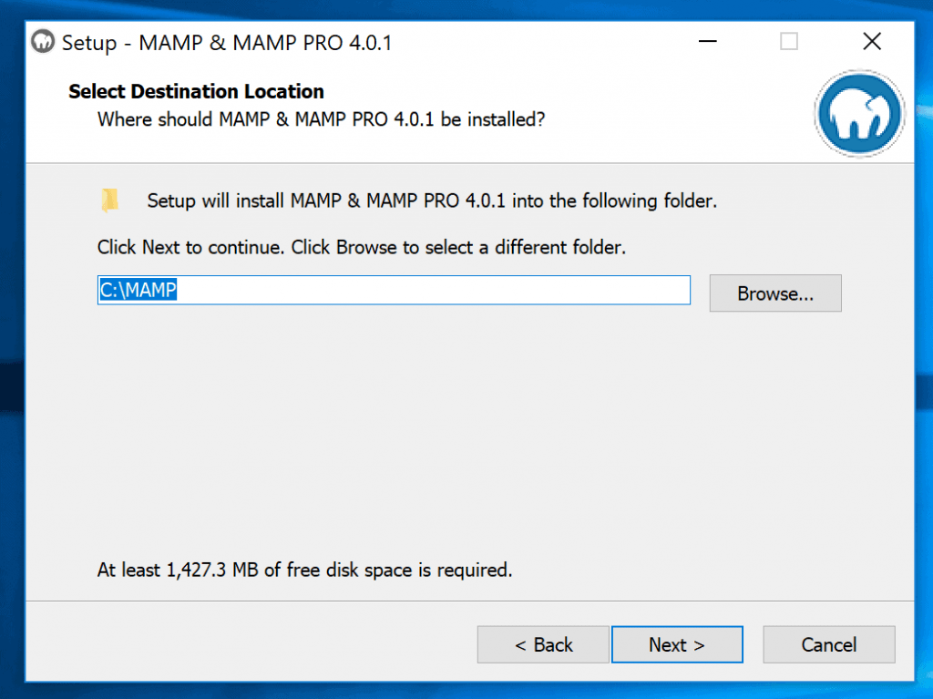 Install Mamp On Windows Destination