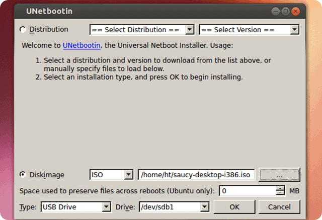 Install Ubuntu With Unetbootin