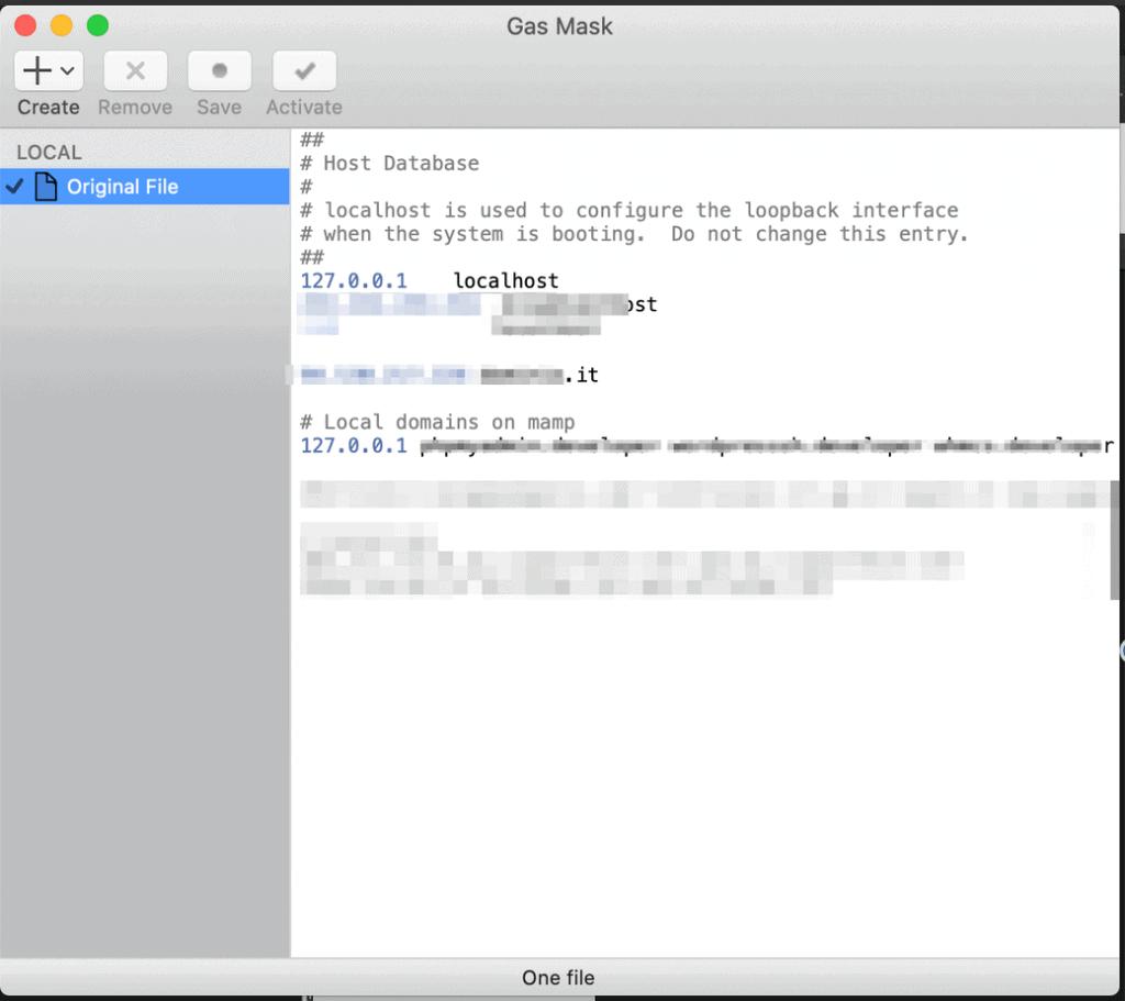 Mac File Hosts Gasmask