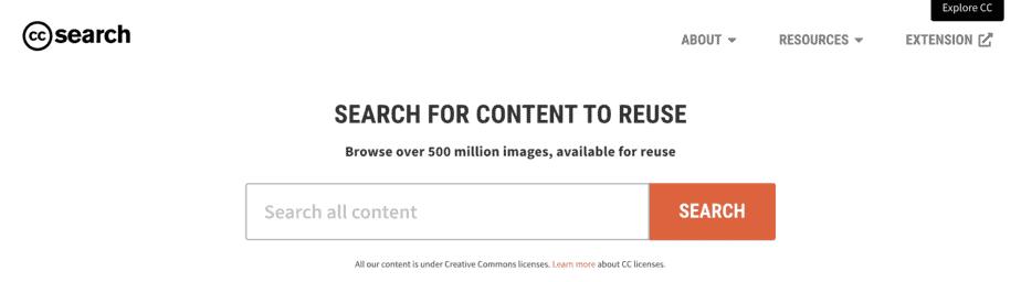 Alternative Search Engine Ccsearch