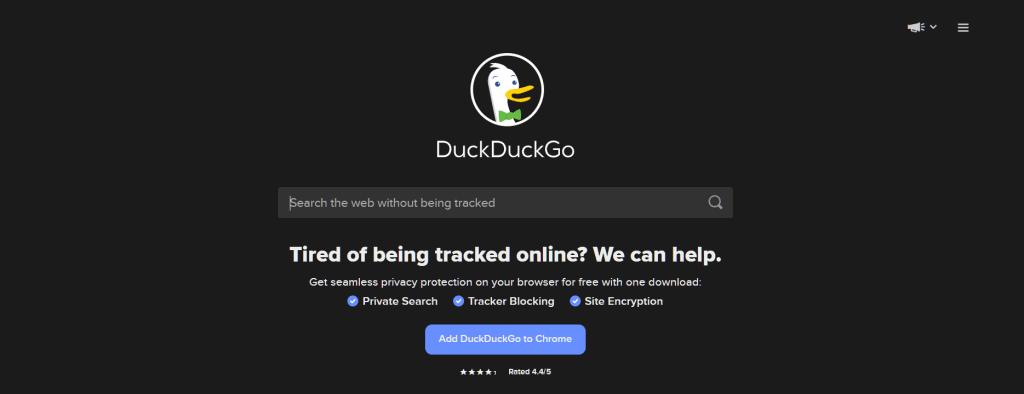 Alternative Search Engine Duckduckgo