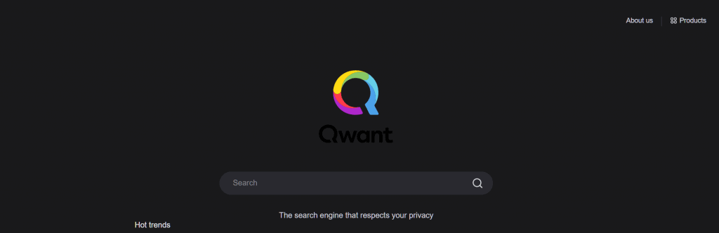 Alternative Search Engine Qwant