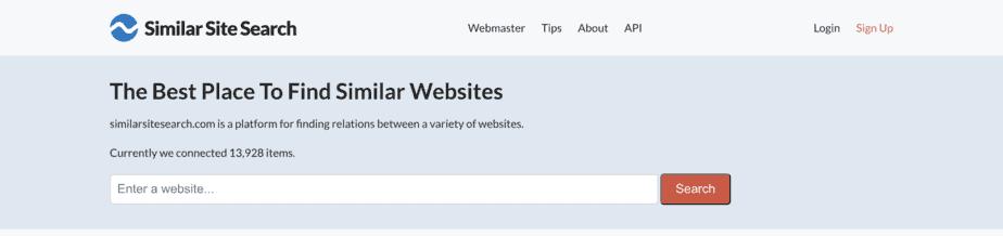 Alternative Search Engine Similar Site