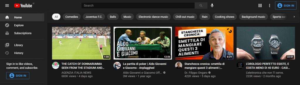 Alternative Search Engine Youtube