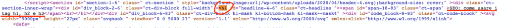 Html Headings Check Your Website